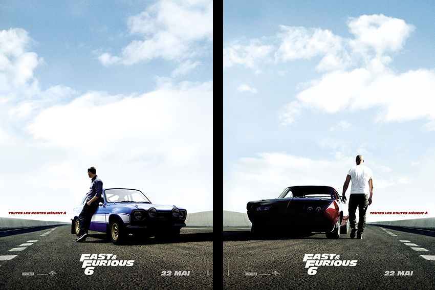 Fast & Furious 6, action en Europe